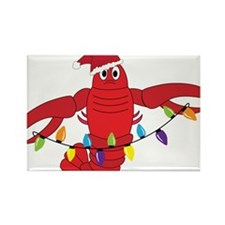 Sandy Claws Rectangle Magnet