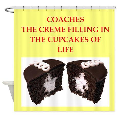 coach Shower Curtain
