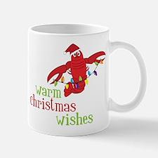 Warm Christmas Wishes Mug
