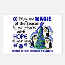 Holiday Penguins CFS Postcards (Package of 8)