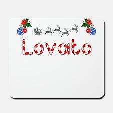Lovato, Christmas Mousepad
