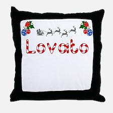 Lovato, Christmas Throw Pillow
