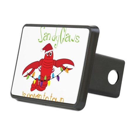 Comin' To Town Rectangular Hitch Cover
