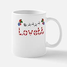 Lovett, Christmas Mug