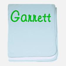 Garrett Glitter Gel baby blanket