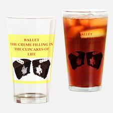 ballet Drinking Glass