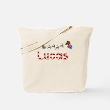 Lucas, Christmas Tote Bag