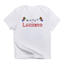 Luciano, Christmas Infant T-Shirt