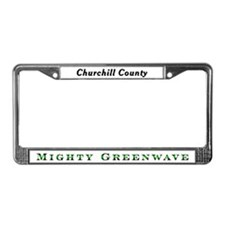 Greenwave License Plate Frame