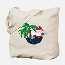 Christmas In Paradise Tote Bag
