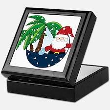 Christmas In Paradise Keepsake Box