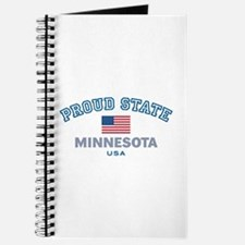 Minnesota-Proud State-Flag: Journal