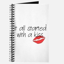 Started with a kiss... Journal