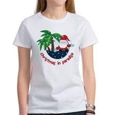 Christmas In Paradise Tee