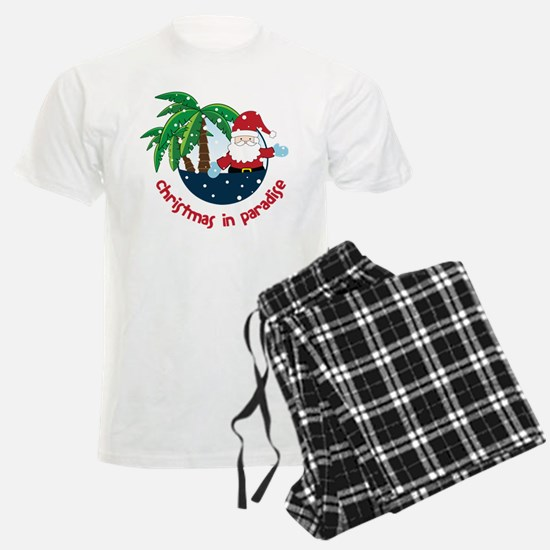 Christmas In Paradise pajamas