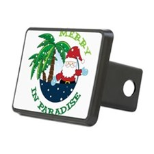 Merry In Paradise Hitch Cover