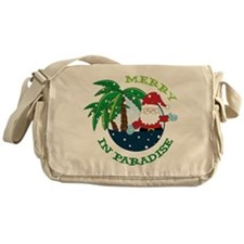 Merry In Paradise Messenger Bag