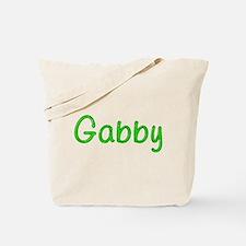 Gabby Glitter Gel Tote Bag