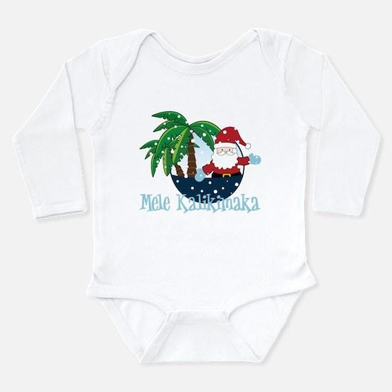 Mele Kalikimaka Long Sleeve Infant Bodysuit