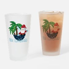 Mele Kalikimaka Drinking Glass