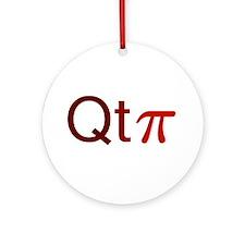 'Cutie Pi' Ornament (Round)