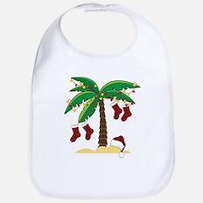 Tropical Christmas Bib