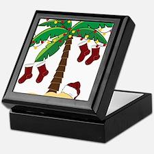 Tropical Christmas Keepsake Box
