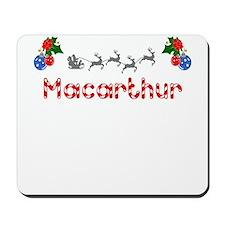Macarthur, Christmas Mousepad