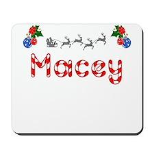 Macey, Christmas Mousepad