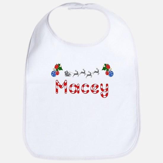 Macey, Christmas Bib