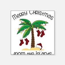 """From The Islands Square Sticker 3"""" x 3"""""""