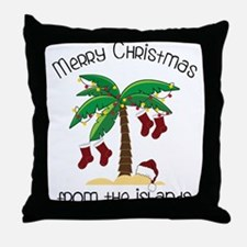 From The Islands Throw Pillow