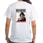 Hot Cup on Back White T-Shirt