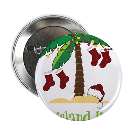 """On Island Time 2.25"""" Button"""