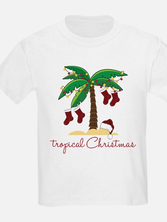Tropical Christmas T-Shirt