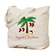 Tropical Christmas Tote Bag