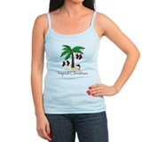 Beach christmas Tanks/Sleeveless