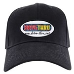 Black Drive Thru Cap