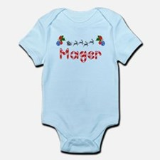 Mager, Christmas Infant Bodysuit
