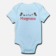 Magness, Christmas Infant Bodysuit