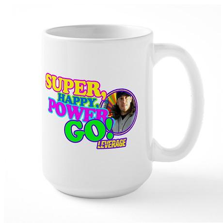 Super Happy Power Go Large Mug