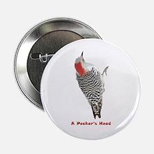 """A Pecker's Head 2.25"""" Button (10 pack)"""
