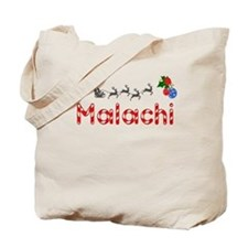 Malachi, Christmas Tote Bag