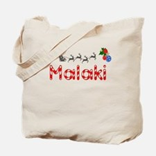Malaki, Christmas Tote Bag