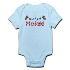 Malaki, Christmas Infant Bodysuit