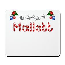 Mallett, Christmas Mousepad