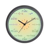 Math equation Wall Clocks