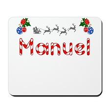 Manuel, Christmas Mousepad