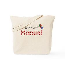 Manuel, Christmas Tote Bag