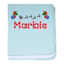Marble, Christmas baby blanket